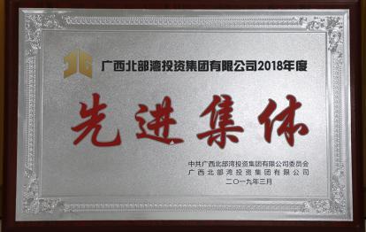 广西北部湾投资集团有限公司2018年度先进集体